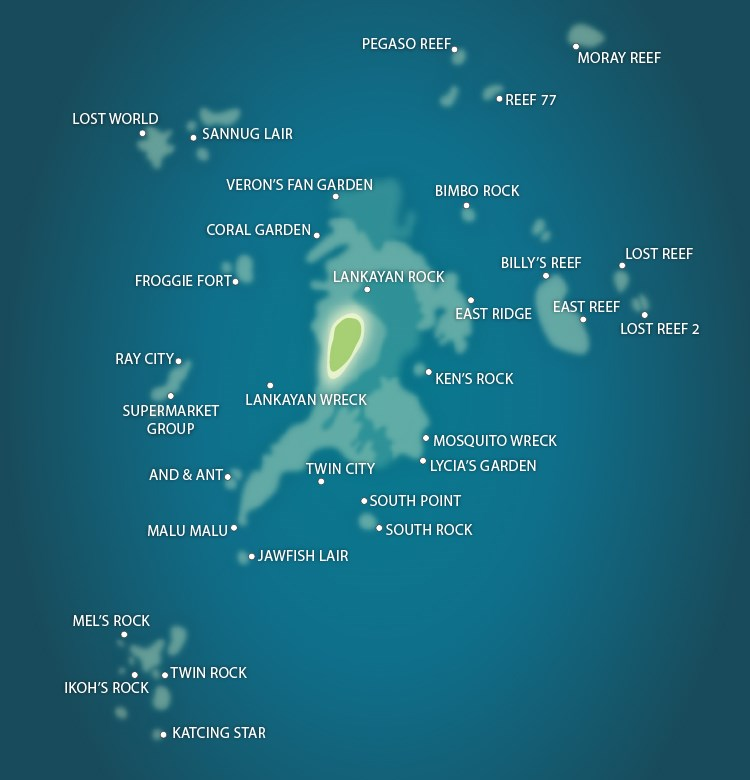 Lankayan Island: Dive Lankayan Island, Diving Overview