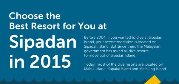 Choose the Best Resort for You at Sipadan
